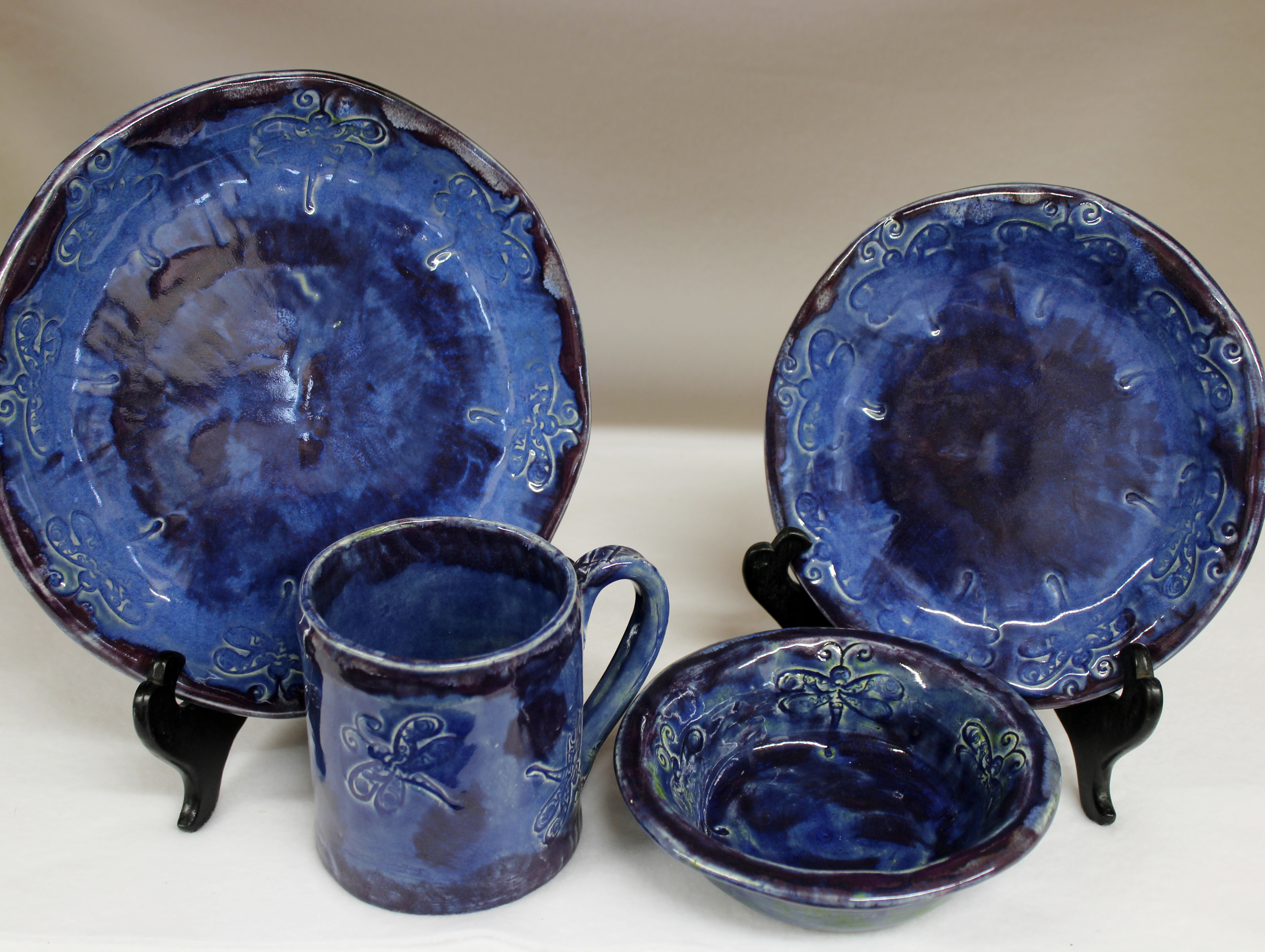 ... Blue Dragonfly Dinnerware Set with Purple Accents. 🔍. $125.00 : dragonfly dinnerware set - pezcame.com